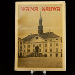 Antique estonian book by Carl Sarap