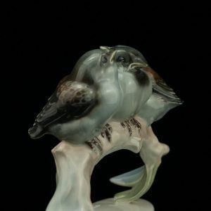 """Rosenthali figuur """"Kolm lindu"""" , Saksa portselan"""