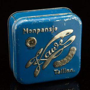 Antique Estonian tin box, KAWE