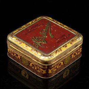 Antique Estonian tin box A.Brandmann