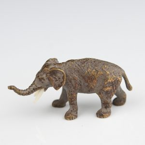 Antiikne pronks elevant