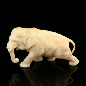 Antique bone elephant