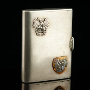 Antique 875 silver cigarette case