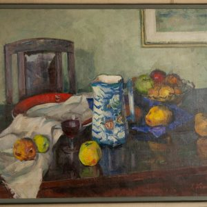 Ilmar Kimm (1920-2011) still life with fruits 1956a