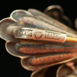 Antiikne Soome pross, 813 hõbe kullatud