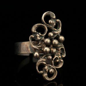 Sõrmus, 830 hõbe, 1969