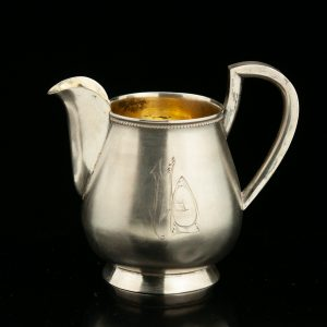 Antique Estonian 875 silver creamer J. KOPF