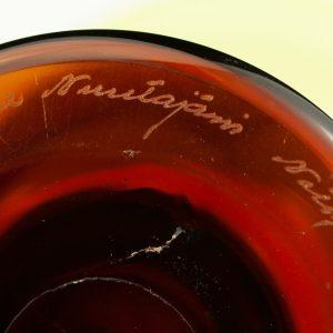 Antiikne Soome vaas, klaas -Inkeri Toikka