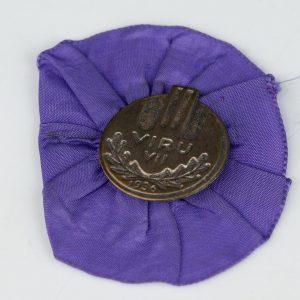 Viru VII Laulupäeva osaleja rosett 1936a