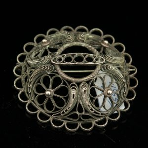 Filigree brooch RESERVED