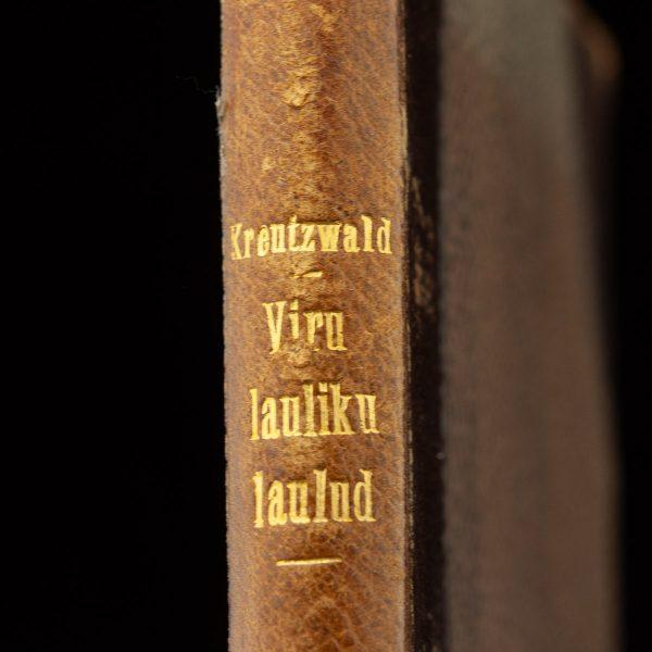 EW raamat Viru lauliku laulud, Fr.R.Kreutzwald 1926a