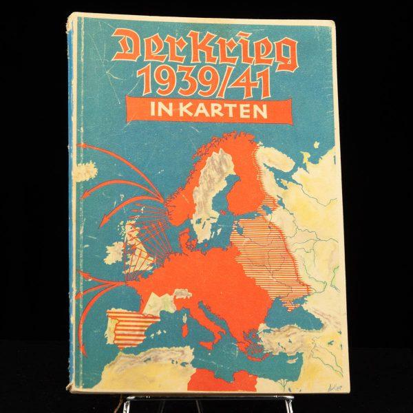 Antique German book DER KRIEG 1939/41 Saksa