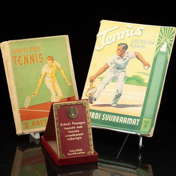 Tennise raamatud ja autasu