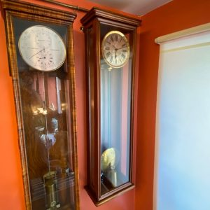 Antique August Ericsson St.Petersburg wall clock No 81