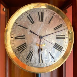 Antique August Ericsson St.Petersburg wall clock