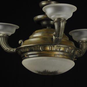Ar Nouveau ceiling lamp