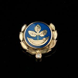 585 gold aviation badge