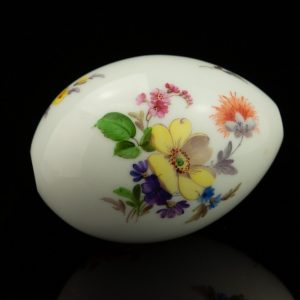 Antique porcelain eastern egg