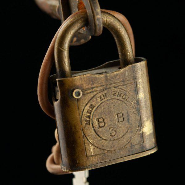 Antique seamans lock