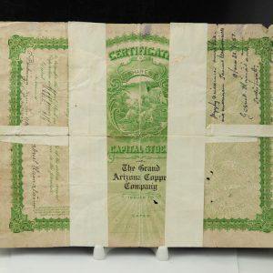 Antiikne DOLLARI sertifikaat 1908