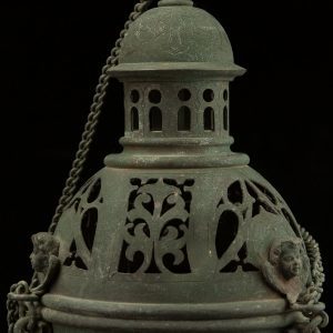 Antique Rusian church lamp