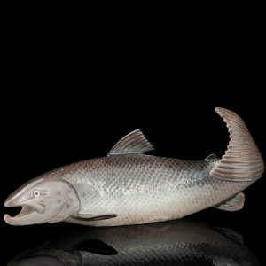 Royal Copenhagen porcelain fish figure