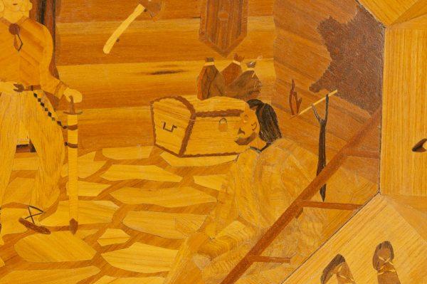 Eesti puidust vaagen, Kalevipoeg