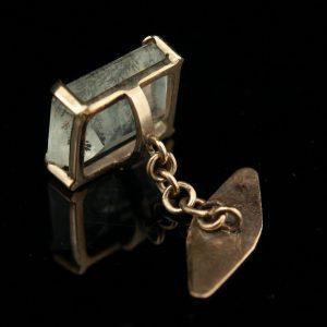 Antiiksed mansetinööbid, kuld