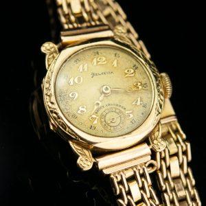 EW käekell ketiga, 585 kuld