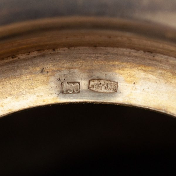 Teeklaasi hoidja - 875 hõbe