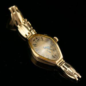 Antique Estonian gold watch , 56 gold
