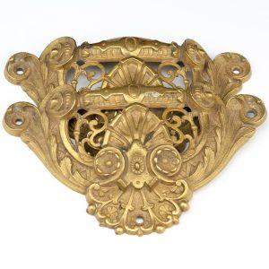 Antique bronze decoration elements