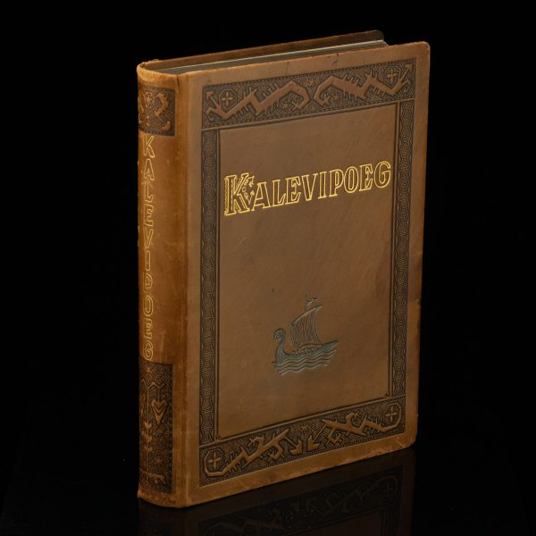 Taska Leather cover Kalevipoeg book 1935