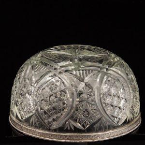 Faberge hõbeäärega kristallkauss, Julius Rappoport