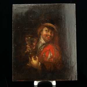 Antique 17th century oil painting