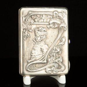 Imperial Russian 84 silver cigarette case