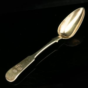 Antique Russian 84 silver spoon