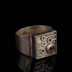 Vintage 1975 Finnish design ring