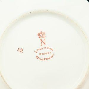 Antiikne portselan komplekt,8 eset Napoleon-Josephine