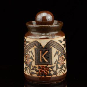 Helene Kuma (1921-2009) ceramic jar