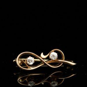 Tsaari-Vene pross, 56 kuld, teemandid (sertifikaat)