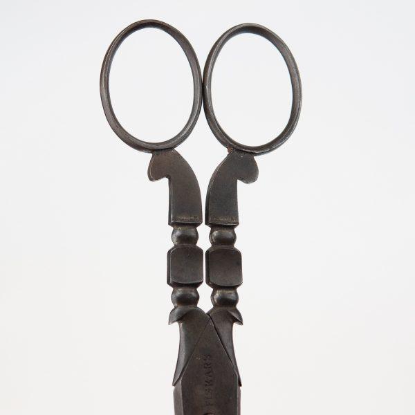 Antique Finnish steel Fiskars scissors