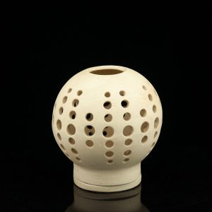 Sirje Kuuskmann ceramic candle holder