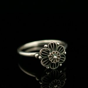 ARS , Estonian filigree silver 916 ring