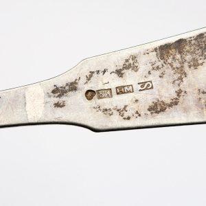 Antique Finnis silver spoon Sortavala Henrik Myyrä 1854