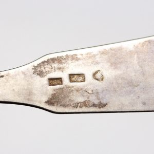 Antique Finnish silver spoon  Sortavala Henrik Myyrä 1854