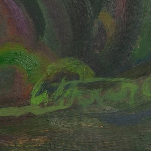 Ermi Littover (1921-2015) oil on carton, Ilmjärve landscape, river 1969