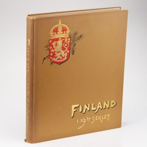 Antique book FINLAND I 19de SEKLET