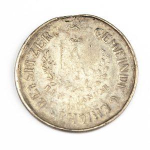 Antiikne Tartu Kreisikohtuniku märk 1820, hõbe