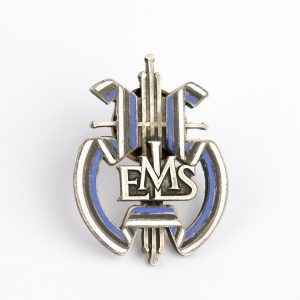 Antique Estonian enamel badge - Eesti Meeste Lauluselts